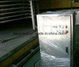 Máquina de congelamento rápido espiral IQF para peixe