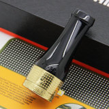 Cohiba 4のサイズのGolssの金の純粋な銅のシガーの管のホールダーのノズル(ES-EB-096)