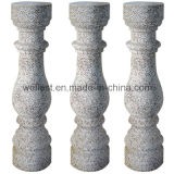 Het het natuurlijke Graniet van de Steen/Systeem van de Balustrade Marble/Sandstone/Onyx/van de Baluster met Traliewerk en Leuning