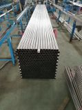 Tubo de aço inoxidável soldado para estruturas de máquinas