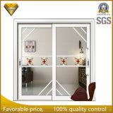 Раздвижные двери двойной застеклять звука и изоляции жары алюминиевые