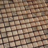 Diseño de cristal de los azulejos de mosaico del oro de la alta calidad para la decoración de la pared