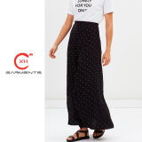 Xh más reciente de la calidad de prendas de vestir falda larga Design