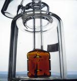 De Pijp van de Waterpijp van het Water van het Glas van de Vorm van de vrijheid met Weggeefprijs