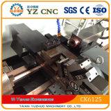Малый миниый Lathe CNC Ck6125