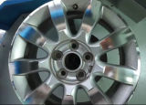Torno de la reparación del rasguño del mag de la máquina del CNC de la reparación del borde de la rueda de la aleación
