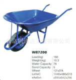 Carriola d'acciaio resistente Wb7200 del cassetto della maniglia di varia alta qualità di colore