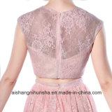 Шнурок безрукавный a - линия длиннее платье выпускного вечера длины пола платья вечера
