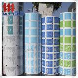 Veegt het aluminiumfolie Gelamineerde Document voor Spijkers af