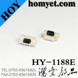 Interruptor del tacto con 7*3.5*3.5m m botón del cuadrado del mástil del registro de 2 Pin