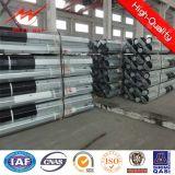 9m und 11m 500dan Stahlpole mit Bitumen