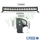 30inch le CREE 140W choisissent la barre d'éclairage LED de dessus de toit incurvée par rangée