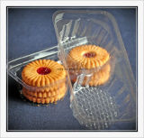Pastel de la máquina de embalaje Caja de plástico