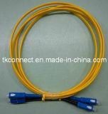 Sc/SC/Cable de fibra óptica Cable de conexión de fibra