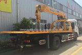 De Vrachtwagen van de Redding van de Weg van Wrecker Rhd LHD van Dongfeng 5t