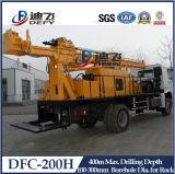 600mのトラックの掘削装置の鋭い機械