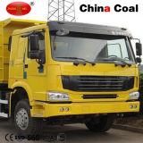 6X4駆動機構371HP標準的なHOWO鉱山のダンプカーのダンプトラック