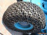 Pá carregadeira de rodas profissional da cadeia de proteção dos Pneus com alta qualidade