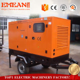 Chinese Diesel van de Stroom van de Motor 125kVA Stille Generator 100kw