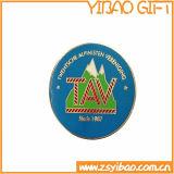 고품질 주문을 받아서 만들어진 로고 사기질 금속 기장 Pin (YB-p-003)