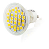 5050 LED 27PCS 4.5W GU10 AC85-265V Projecteur LED