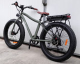 Châssis en alliage Cheap Montagne Vélo électrique avec graisse pneumatique