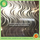 Wall Decoration Panel를 위한 가정 Decoration SGS 201 304 Mirror Laser Stainless Steel Sheet CD Circle Stainless Steel Plate