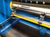 Freno hidráulico Wc67y-40t/1600 de la prensa de la barra de la torsión con el regulador E21