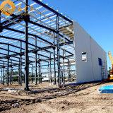 Bajo costo y almacén de acero prefabricado de la construcción Rápido-Que ensambla (SSW-47)
