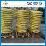 Boyau en caoutchouc hydraulique à haute pression tressé de pétrole de R2/2sn