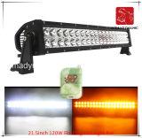 도로 빛과 LED 모는 빛 떨어져 SUV 차 LED를 위한 LED 차 빛 21.5inch 120W 번쩍이는 LED 표시등 막대