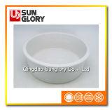 Bacia cerâmica branca do animal de estimação de Gyp010