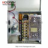 6CH 12V 5A 60watts CCTVの電源ボックスモニタスイッチ電源