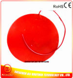 Diameter 500*1.5mm 24V 1000W Round Silicone 3D Printer Heater