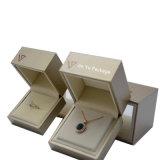 Rectángulo de empaquetado del oro del brazalete de la pulsera de la joyería hecha a mano larga del regalo
