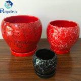Застекленный керамический бак сада для украшения или подарка