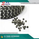 11.5 다이아몬드 철사는 화강암을%s 보았다