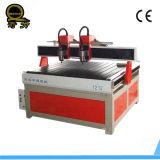 Doppio legno di CNC dell'asse di rotazione che intaglia macchinario con l'asse rotativo Ql-1212