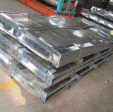 tôle d'acier galvanisée ridée par feuille du zinc Dx51d+Z80 de 0.15mm