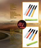 Do bracelete reflexivo clássico do diodo emissor de luz de 4 diodos emissores de luz fita de piscamento para a promoção