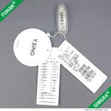 Pappweinlese-Papier-Fall-Marke für Kleidung