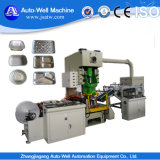 Aluminiumfolie-Behälter, der Maschine herstellt
