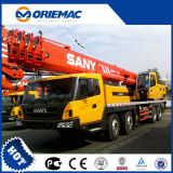 Sany Stc500 50ton 판매를 위한 트럭을%s 가진 트럭에 의하여 거치되는 기중기 이동 크레인