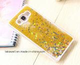 Caisse liquide de portable de sable d'étoile de PC neuf bon marché d'arrivée pour la caisse de téléphone de sable mouvant de la galaxie A3/A5/A7 de Samsung