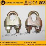 Galvanizado DIN ajustable maleable 1142 Wire Clamp