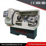 Mango de maniobra hidráulico automático de la máquina del torno del CNC de la tirada Ck6136A-1 de la alta precisión