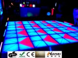 Neuestes video Dance Floor RGB Acrylpanel wasserdichte LED Dance Floor LED-für Hochzeits-Disco-Partei Eevents