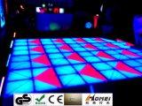 Nuevo vídeo de Baile de LED RGB panel acrílico LED impermeable de pista de baile para la boda discoteca parte Eevents