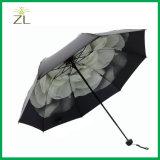 ترويجيّ مصغّرة صامد للريح ثلاثة يطوي مظلة