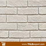 백색 색깔 Handmade 겹쳐 쌓인 인공적인 돌 찰흙 벽돌 (LPZ-631)